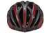 UVEX race 5 Helm black mat-red